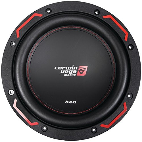 "Cerwin Vega H7104D 1200W Max (250W RMS) 10"" HED Series Dual 4-Ohm Car Subwoofer"