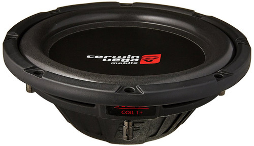 "Cerwin Vega HS102D 800W Max (200W RMS) 10"" HED Series Dual 2-Ohm Shallow Mount Subwoofer"