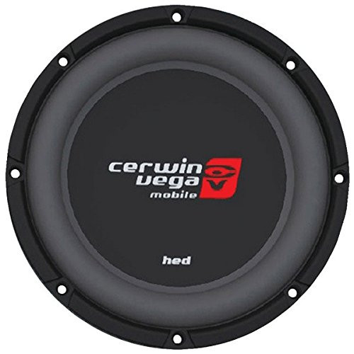 "Cerwin Vega HS122D 1200W Max (250W RMS) 12"" HED Series Shallow Mount Dual 2-Ohm Subwoofer"