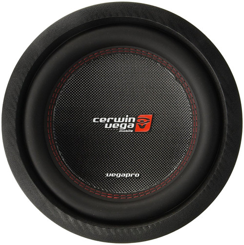 "Cerwin-Vega VPRO104D 1400 Watt Peak 10"" Vega Pro Series Dual 4 Ohm Subwoofer"