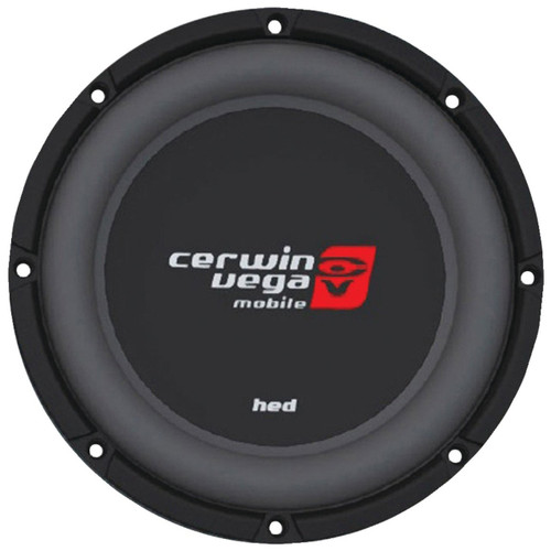 """Cerwin Vega HS124D 1200W Max (250W RMS) 12"""" HED Series Shallow Mount Dual 4-Ohm Subwoofer"""