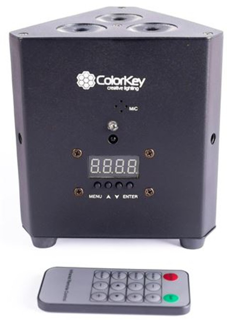 Colorkey CKU07-2040B Colorkey TrussPar QUAD 3 Black