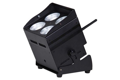 ColorKey CKW02-6004B MobilePar QUAD 4 Light, Black