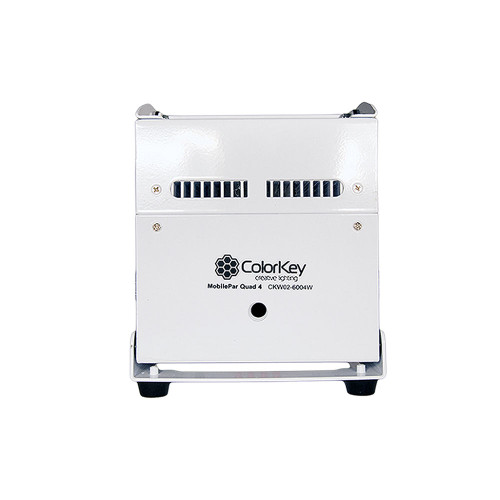 ColorKey CKW02-6004W MobilePar QUAD 4 Light, White