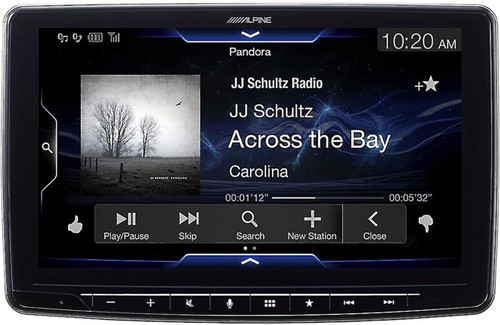 "Alpine Halo9 iLX-F309 Single DIN Apple CarPlay, Android Auto Digital Media Receiver w/ 9"" Screen"