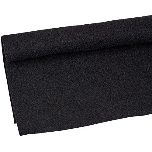 Absolute C10bk 10-Feet Long/4-Feet Wide Black Carpet for Speaker Sub Box Carpet RV Boat Marine Truck Car Trunk Liner