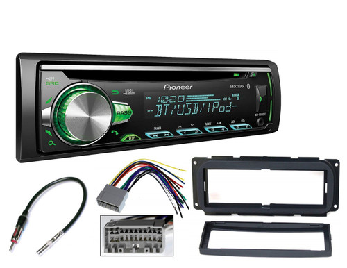 Pioneer Bluetooth CD Player Car Stereo Radio Install Mount Kit Radio Harness