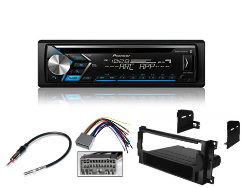2004-2008 FOR CHRYSLER//DODGE//JEEP Stereo Radio Dash Kit+Wire Harness