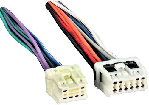 Metra 71-7550 Reverse Wiring Harness for Select 1995-2007 Nissan/Infiniti/Suzuki Vehicles Into OEM Radio