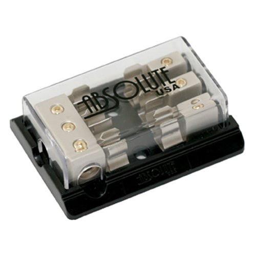 Absolute AGD23C 3 Gang Chrome AGU Fuse Distribution Block