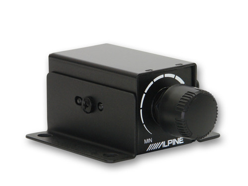 Alpine RUX-KNOB Remote Bass Level Control Knob for PDX-M12 and PDX-M6