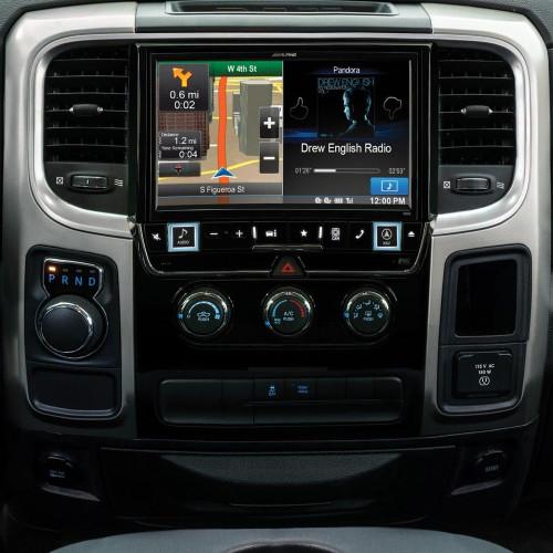 "Alpine X009-RAM 9"" Restyle Dash System for Select Ram 1500, 2500 & 3500 Trucks"