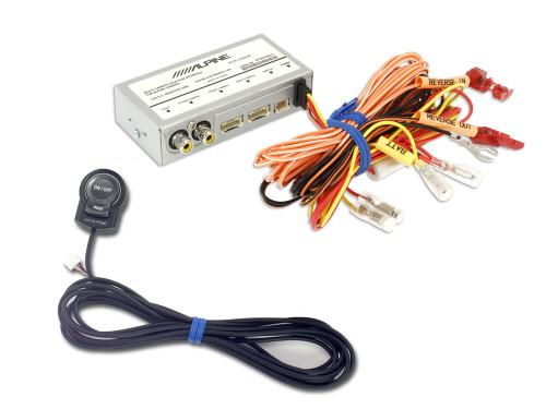 Alpine KCX-C2600B Dual Multi-Camera Interface with RCA Input