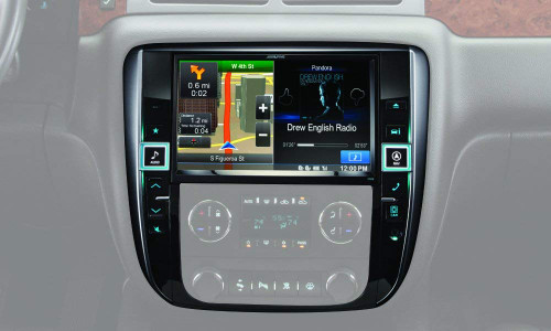 """Alpine Electronics X009-GM 9"""" Restyle Dash System for Select GM Trucks"""