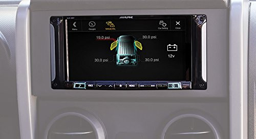"""Alpine Electronics i207-WRA 7"""" Mech-Less Restyle Dash System Apple Car Play & Android Auto Jeep Wrangler (2007-2017)"""