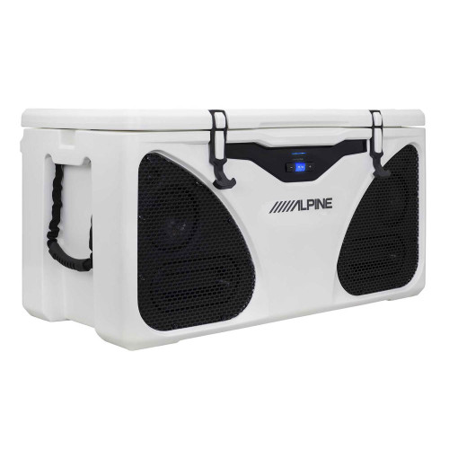 Alpine Electronics Ice (in-Cooler Entertainment) System, White, One Size PWD-CB1