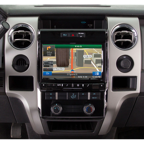 """Alpine Electronics X009-FD1 9"""" Restyle Dash System for Select Ford F-150"""
