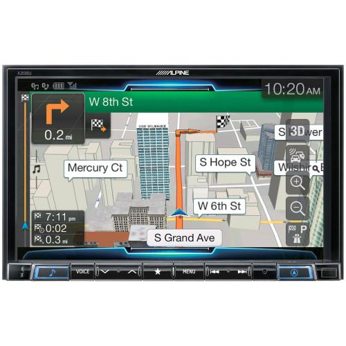 Alpine X208U Double DIN Alpine Restyle In-Dash Digital Media Car Stereo Receiver w/ Android Auto, Apple CarPlay
