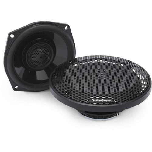 """Rockford Fosgate TMS5 Power Harley-Davidson 5.25"""" Full Range Tour-Pak Speakers (1998-2013)"""