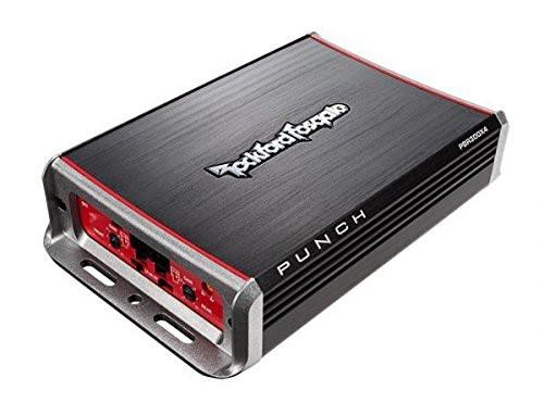 Rockford Fosgate PBR300X4 Punch BRT 300-Watt Ultra Compact 4-Channel Amplifier