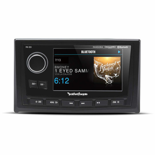 """Rockford Fosgate PMX-8DH Punch Marine Full Function Wired 5"""" TFT Display Head"""