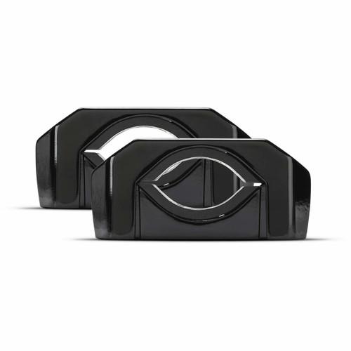 Rockford Fosgate PM-CL2B Punch Marine Diecast Mini Wakeboard Tower Clamp - Black (Pair)