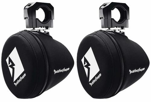 "Rockford Fosgate PM265-SPFM Punch Marine 6.5"" Neoprene Mini Tower Speaker Covers (Pair)"