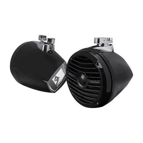"Rockford Fosgate RM1652W-MB 6.5"" Wakeboard Tower Speakers"