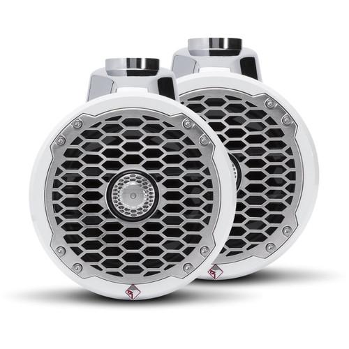 "Rockford Fosgate PM2652W Punch Marine 6.5"" Wakeboard Tower Speaker (Pair)"