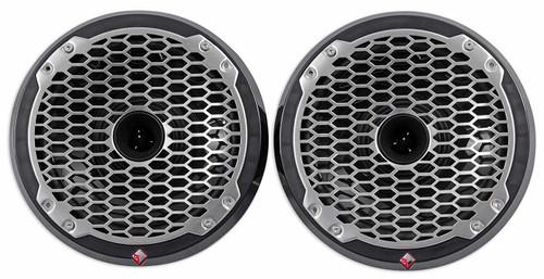 "Rockford Fosgate PM282H-B Punch Marine 8"" Full Range Speaker w/Horn Tweeter - Black (Pair)"