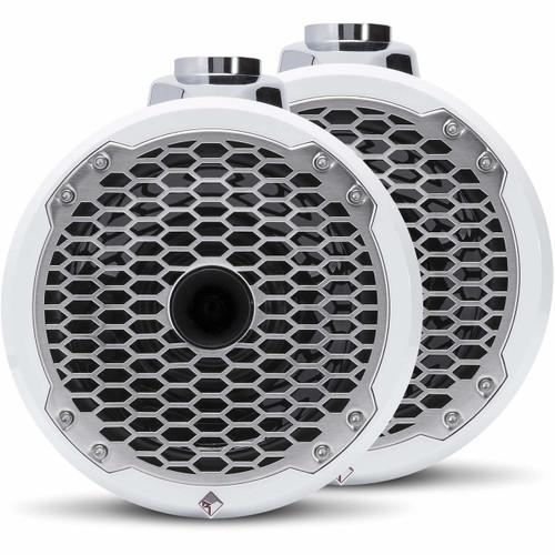 """Rockford Fosgate PM282HW Punch Marine 8"""" Wakeboard Tower Speaker - Horn Tweeter (Pair)"""