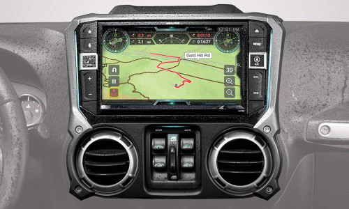 """Alpine Electronics X209-WRA-OR 9"""" Restyle Navigation System with Off-Road Mode & Apple CarPlay & Android Auto for The Jeep Wrangler (2011-2018)"""