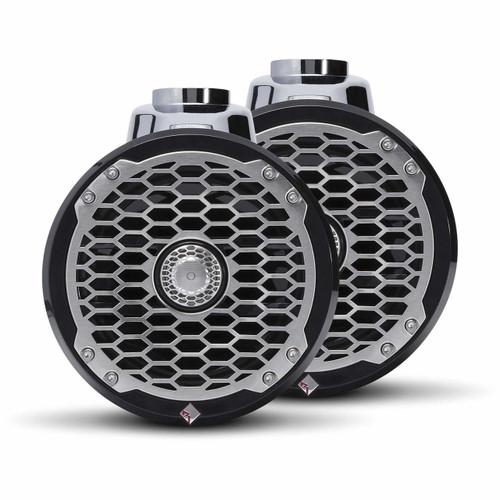 "Rockford Fosgate PM2652W-B Punch Marine 6.5"" Wakeboard Tower Speaker - Black (Pair)"