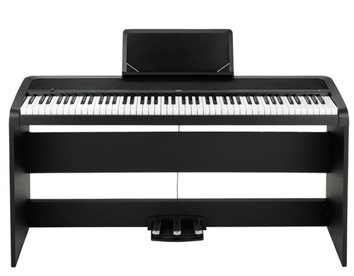 Korg B1 Digital Piano with Stand and Pedal Set