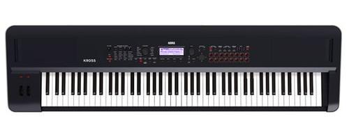 Korg Kross 288 MB 88 Key Synthesizer Workstation in Black