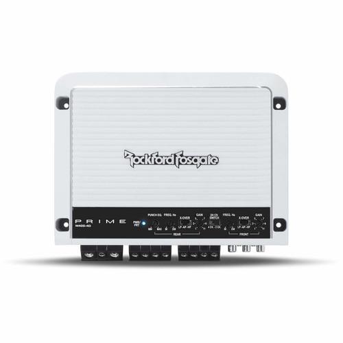 Rockford Fosgate M400-4D Prime Marine 400 Watt Full-Range Class-D 4-Chanel Amplifier