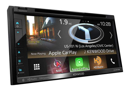 Kenwood DNX575S in-Dash Multimedia Receiver with Navigation