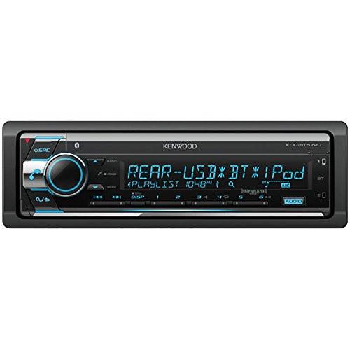 Kenwood KDC-BT572U Single DIN SiriusXM Ready Digital Media In-Dash Car Stereo Receiver