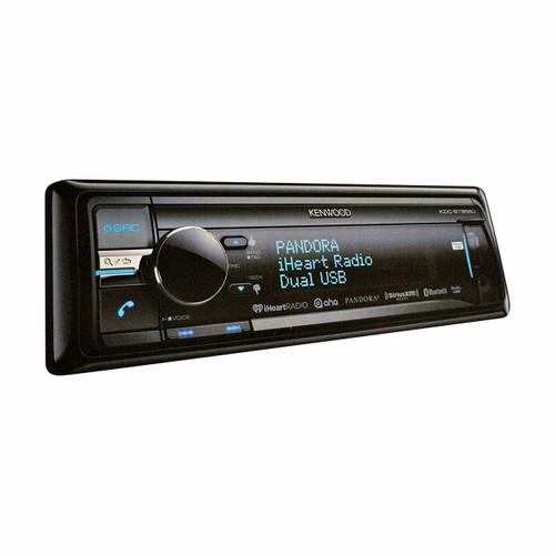 Kenwood KDC-BT858U Single-DIN Bluetooth Car Stereo w/ 2-Way iPod Control and SiriusXM Ready