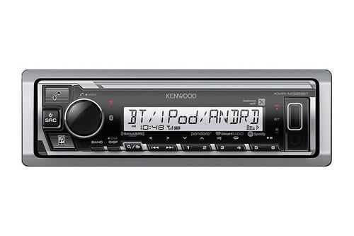 Kenwood KMR-M325BT Single DIN In-Dash AM/FM Bluetooth Digital Media Marine Stereo Receiver