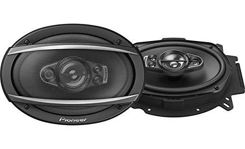"Pioneer TS-A6970F 5 Way 600 Watts 6"" x 9"" A-Series Coaxial Car Speakers"