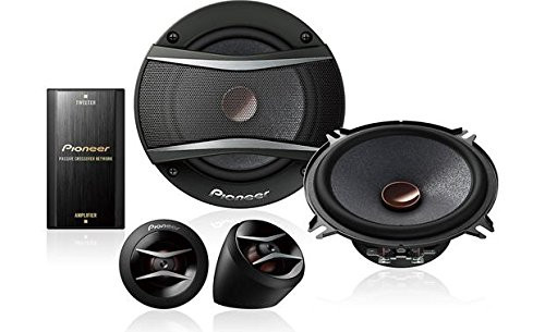 "Pioneer TS-A1306C 300W 5-1/4"" TS-A Series Component Car Speaker Speaker Package"