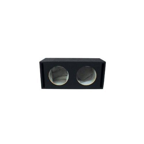 Absolute USA VEGD15 Dual 15-Inch Slot Ported Subwoofer Enclosure, 3/4-Inch MDF
