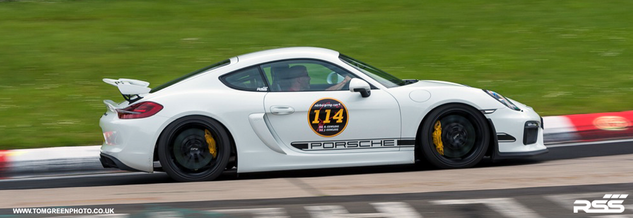 """RSS - GT4 Cayman 981 Stage 2 Suspension Kit: """"Taking GT4 performance to a higher level"""" The TS-2-GT4 Kit Features RSS Championship Winning Spherical Bearing/Monoball Technology: Kit includes 371 Front Bump Steer Kit, 302 Rear Toe Steer Kit, 333 Rear Eccentric Lock Out Plate Kit, 360 Caster Adjustable Thrust Arm Bushing Kit, 3-256 or 3-307 (3-307 Requires additional sensor Brackets) Front and Rear Inner Monoball End Control Arm kits and front and rear camber shims kits."""