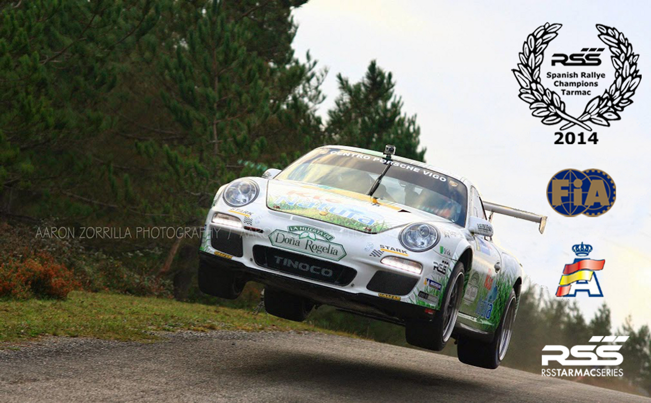 "RSS Part # TS-2 ""Tarmac Stage 2"" Suspension Kit (997.1 GT3/RS Chassis). Winner of the ""2014 Spanish Tarmac Rallye Championship"" Results Matter…not hype"" RSS Tarmac Stage 2 Suspension System (TS-2 or TS-2-BC) is the most rigorously engineered, tested, validated, and motorsport homologated aftermarket mono-ball suspension system available for your Porsche....Period! RSS TARMAC SERIES Motorsports Suspension Kits have been winning championships, races and setting track records in various forms of motorsport (Sports Car Racing, Endurance Racing and Rally) around the world. RSS is the preferred suspension of choice of professional race teams, tuners, track day junkies, and driving enthusiasts around the world. - 2013 ROLEX GRAND-AM GX CHAMPIONS - - 2014 Supplier of PIRELLI GT3 CUP TROPHY USA - 2014 FiA – GROUP GT RALLY WINNERS - 2015 PIRELLI WORLD CHALLENGE TC CHAMPIONS"