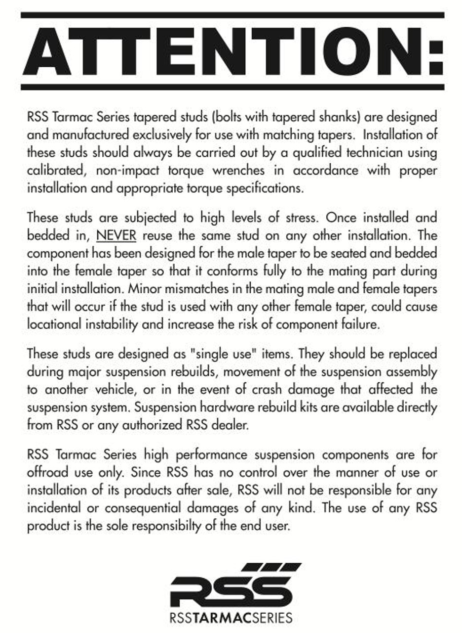 357  RSS Rear Lower Control Arms  (986, 996, 987, 997 All, 981/982/718)