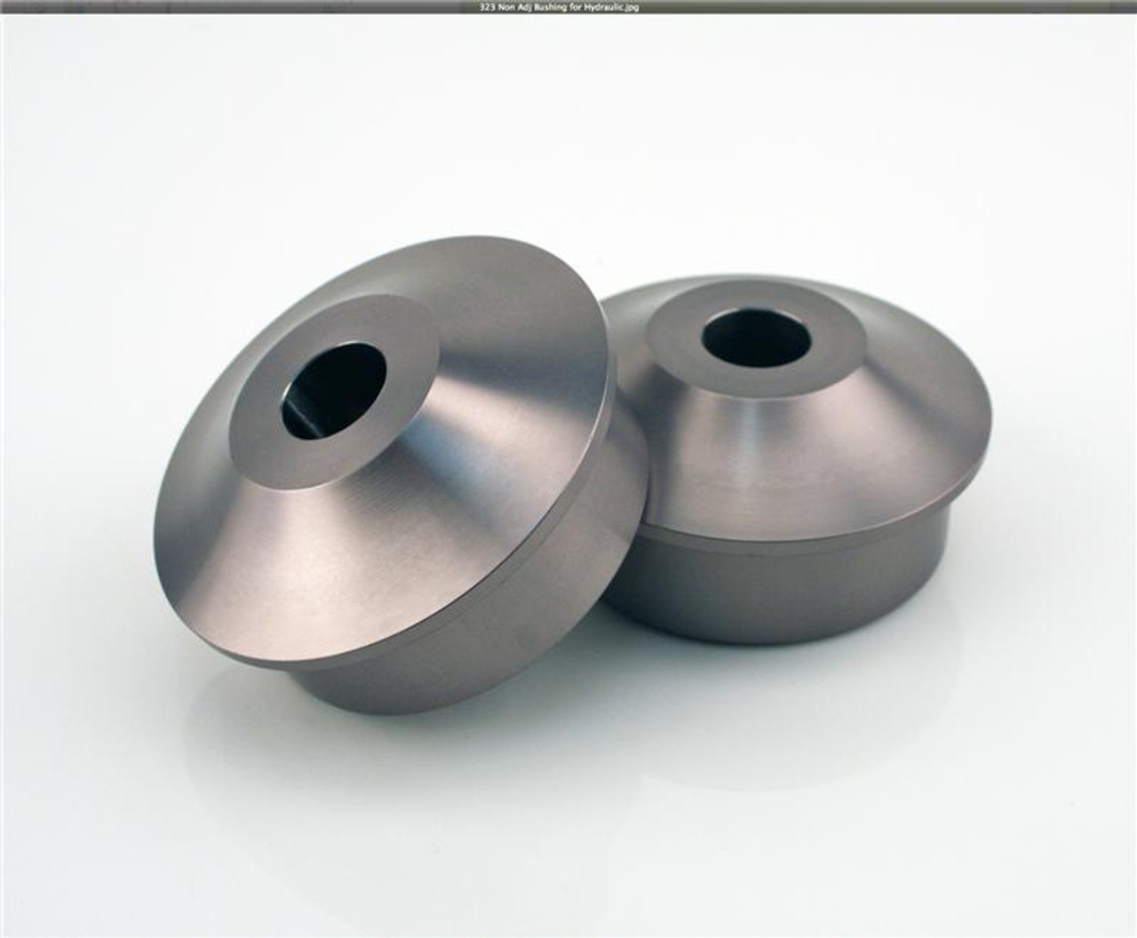 NON-ADJUSTABLE THRUST ARM BUSHING KIT – Front Axle. Ideal for castor adjustable thrust Arms from other brands. Set of 4 The RSS Non-Adjustable Thrust Arm Bushing Kit will improve handling and response of suspension system. Eliminates unwanted caster changes in both front or rear suspension under acceleration and deceleration. AVAILABLE FOR ALL PORSCHE® 987, 997 (non GT#) 981, GT4, 991, 991 GT3/RS .