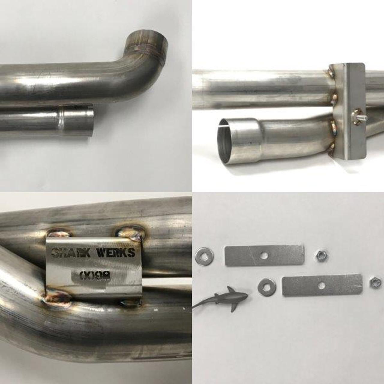 Sharkwerks - 997.2 Turbo/S Exhaust