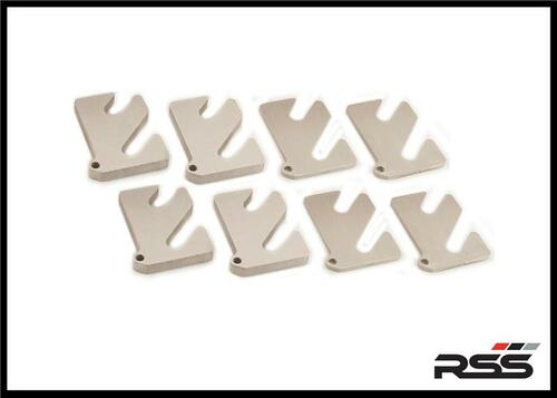 Size 10mm (Qty: 1) RSS Alignment Shim for 2-Piece Control Arms Available for ALL Late Model Porsche® Automobiles Running Motorsport Style 2-piece Lower Control Arms Made in USA at RSS