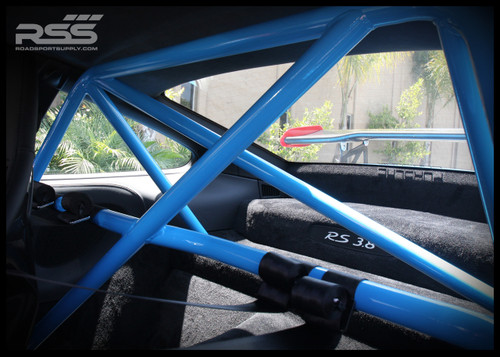 "• Fits ALL 996 & 997 MK1 & MK2 Models Including GT3 & GT3 RS • 1.5"" Steel Tubing, .095 Wall Thickness, 38 lbs including all hardware • Bolts To Front Seatbelt Mounts & Rear Shock Towers • Mig Welded, No Sleeved Tube Connections • Flawless Fit To Interior Profile • Retains Full Function of Most Seats • Offers Safety, Harness Connection & Motorsport Looks • Available in Standard Black (30), White (32), or Raw (00) (unfinished - ready for paint match) • Contact Us for Additional Custom Colors • Easy Bolt-In Installation – No Drilling Required • Handmade on Location in Southern California, USA • Will Fit In Vehicles with Sunroof • Please Enter Color Choice in Comments Section in Shopping Cart Note: Modifications Need to Be Made On Models with Bose® Rear Subwoofer. Note: Rollbar Ships On A pallet, Shipping withing Continental USA is typically $200-$300. We Will Contact You with Final Shipping Quote Via FedEx Freight."